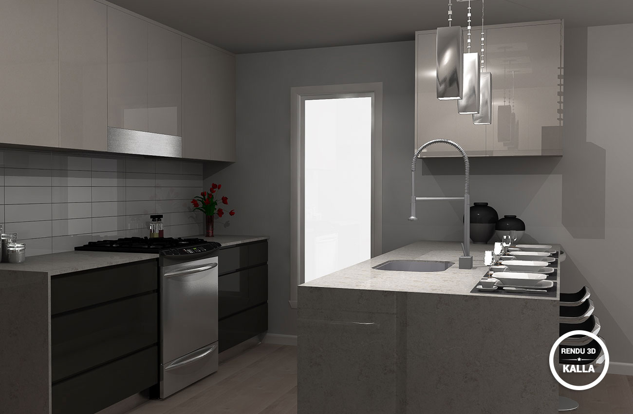 3d cui ian2 kalla cuisine design for Design cuisine 3d