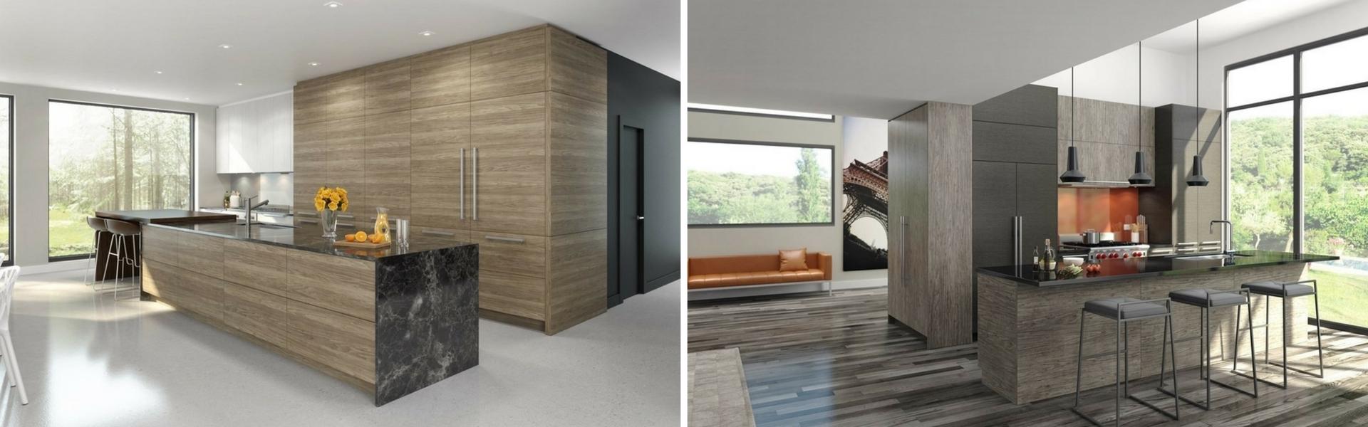 les armoires en m lamine font un retour en force kalla cuisine design. Black Bedroom Furniture Sets. Home Design Ideas