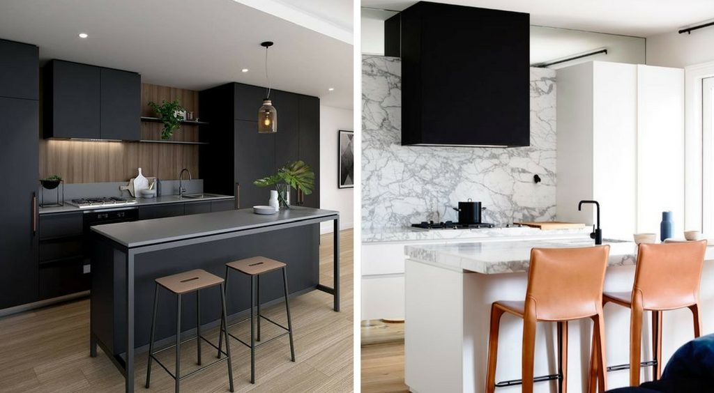 les tendances 2018 en mati re de design de cuisine kalla cuisine design. Black Bedroom Furniture Sets. Home Design Ideas