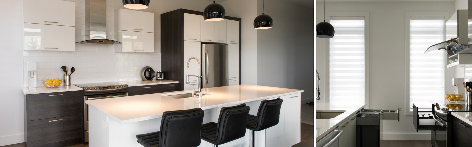 r nover sa cuisine resurfa age versus nouvelles armoires. Black Bedroom Furniture Sets. Home Design Ideas