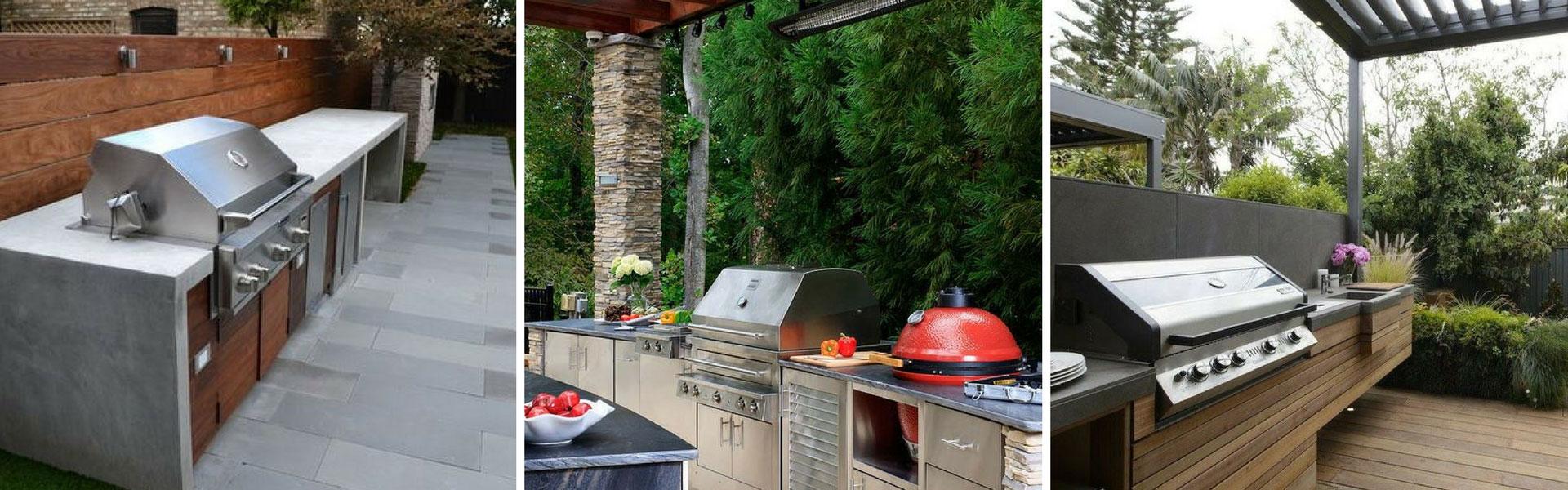 Cuisine Exterieure En Pierre aménager une cuisine extérieure : trucs et conseils   kalla